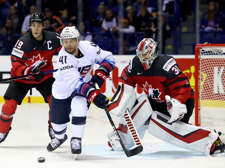 Canada blanks U.S. to win Group A at World Championship