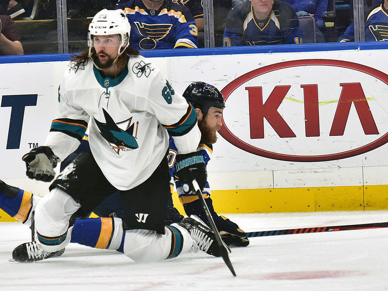 DeBoer: Karlsson was healthy, dialed in 'for probably 6 weeks'
