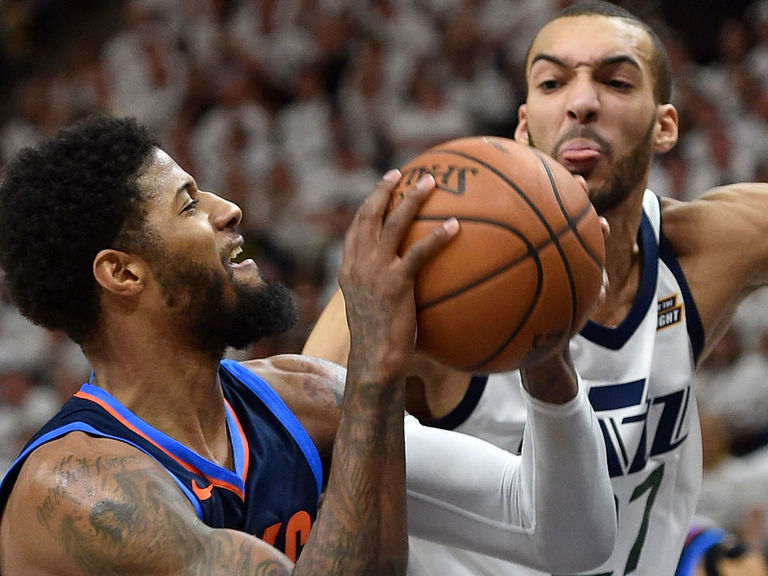 Gobert, George headline NBA All-Defensive team