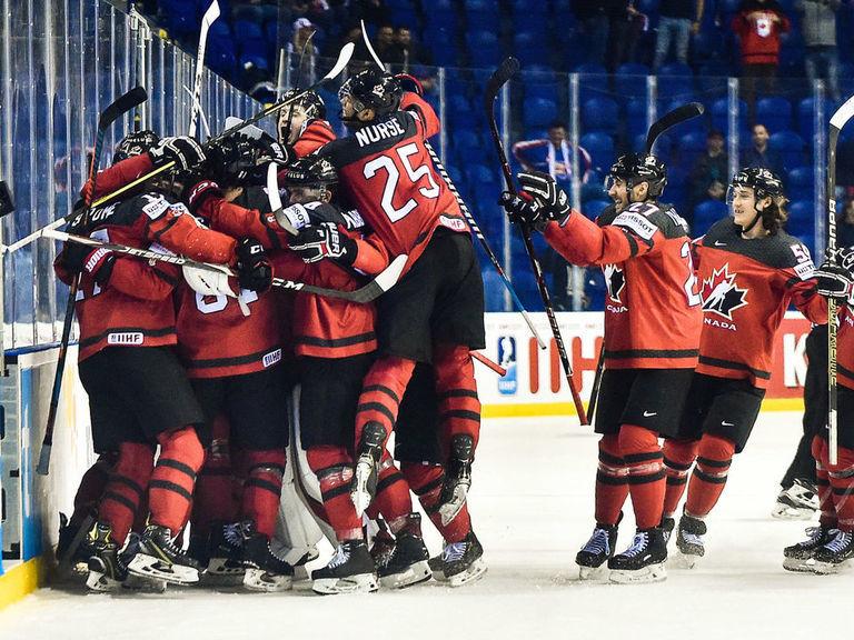 Canada avoids quarterfinal upset with wild OT win over Switzerland