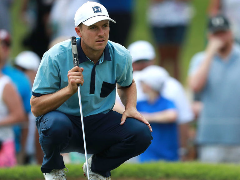 Spieth records career-best putting performance in Round 1 at Colonial