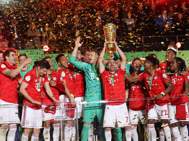 Bayern Munich secure domestic double with DFB-Pokal title