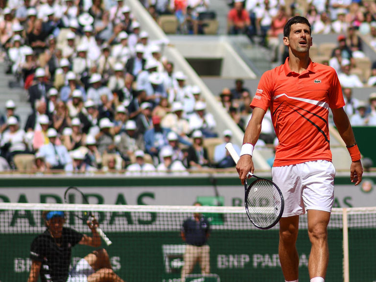 Djokovic on to French Open semis as Zverev once again falters on big stage