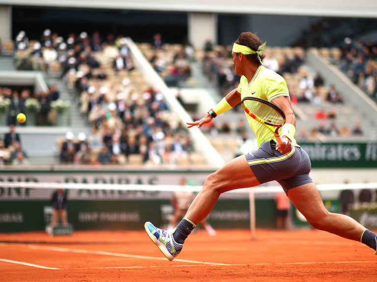 Nadal thumps Federer to reach 12th French Open final
