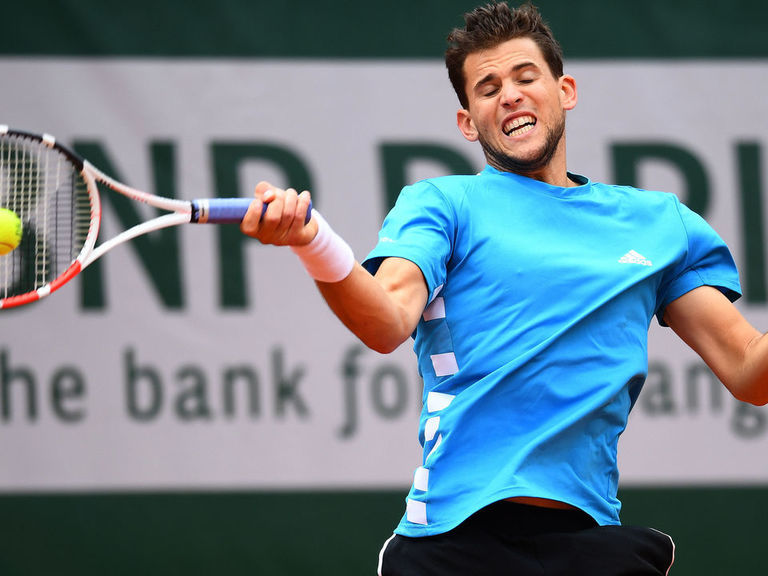 Thiem tops Djokovic to advance to 2nd straight French Open final