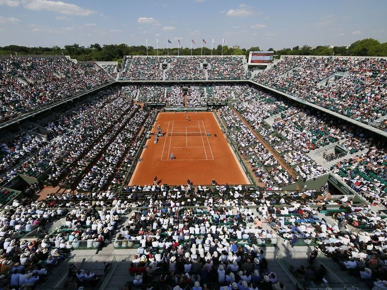 Let there be light: No more matches called for darkness at Roland Garros
