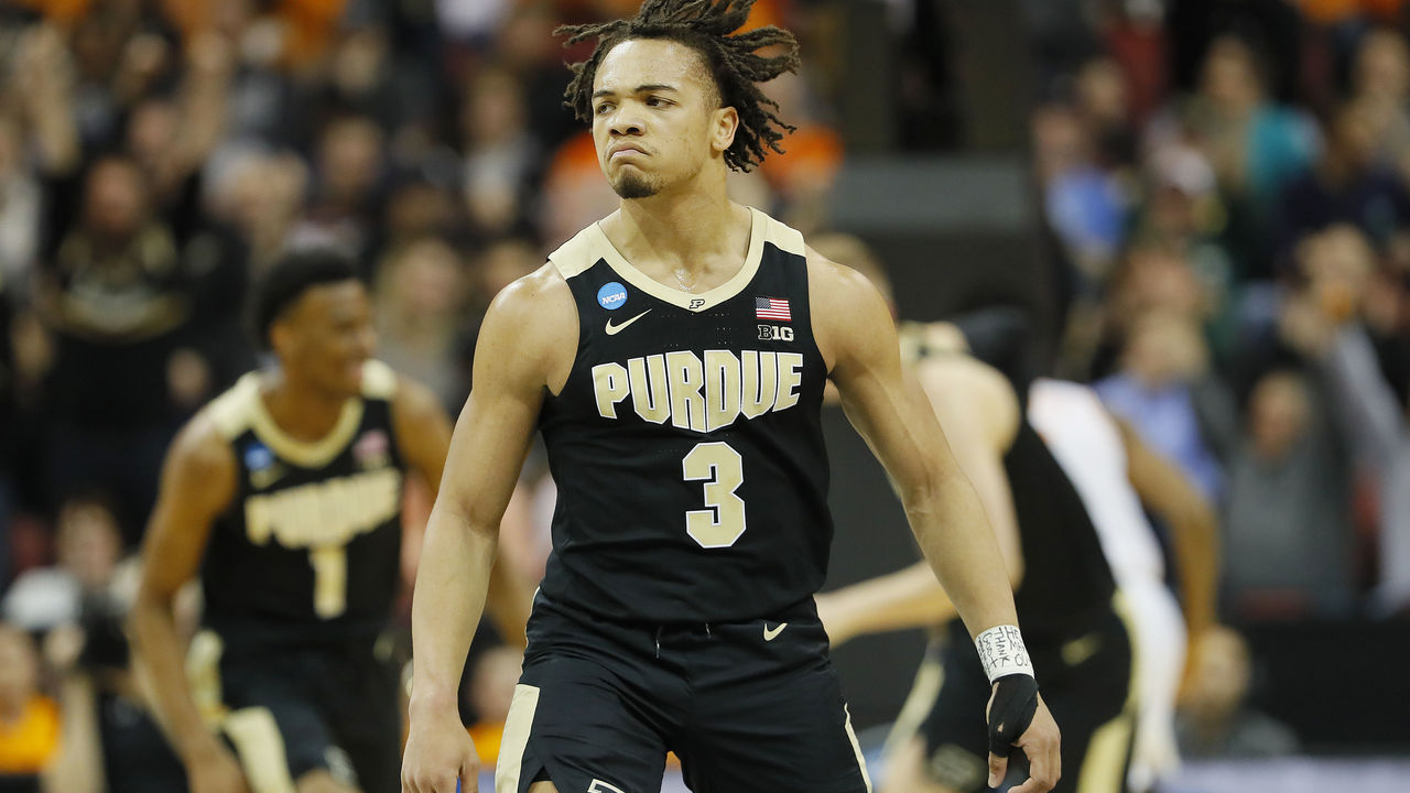 Carsen Edwards Picked At No 33 Reportedly Headed To Celtics