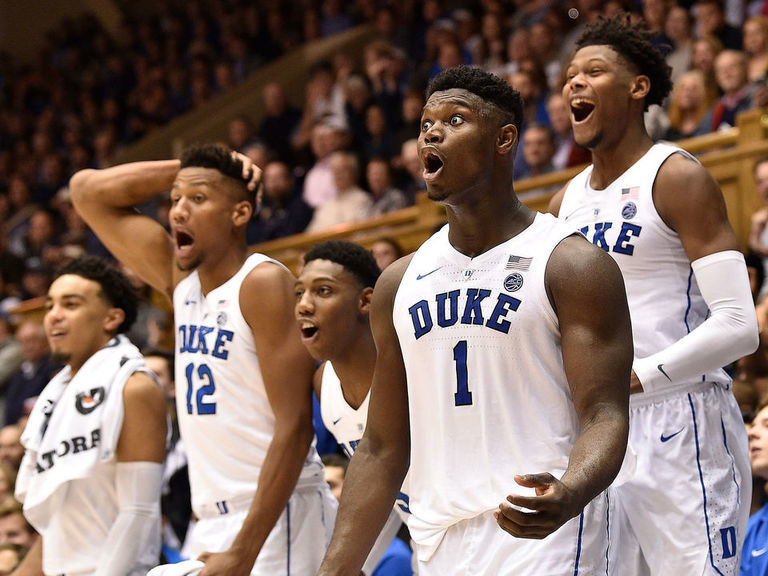 Where will Duke's trio land among the top draft classes from 1 school?