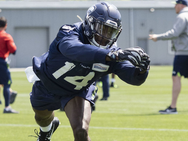 Wilson raves about 'really, really special' rookie Metcalf