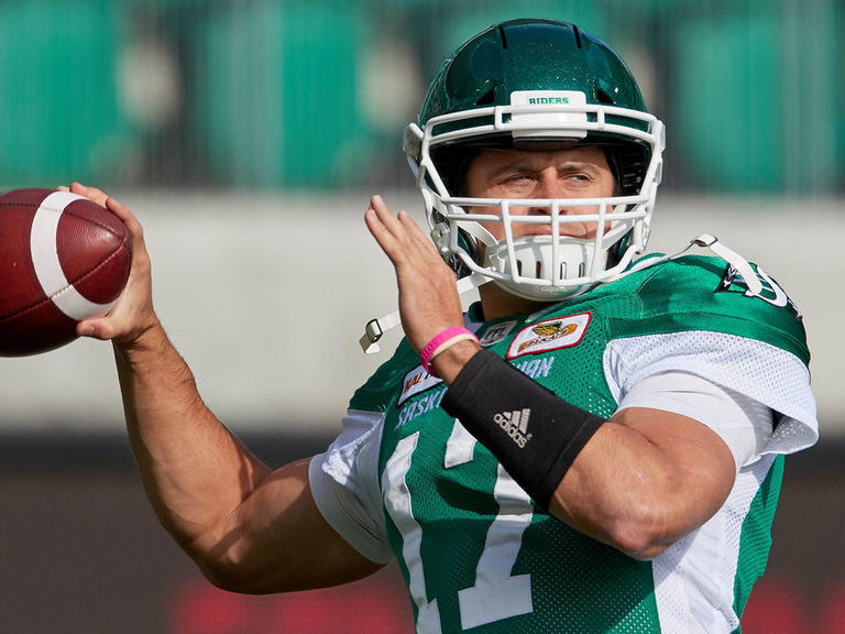 Collaros exits on 1st series of season after shot to the head