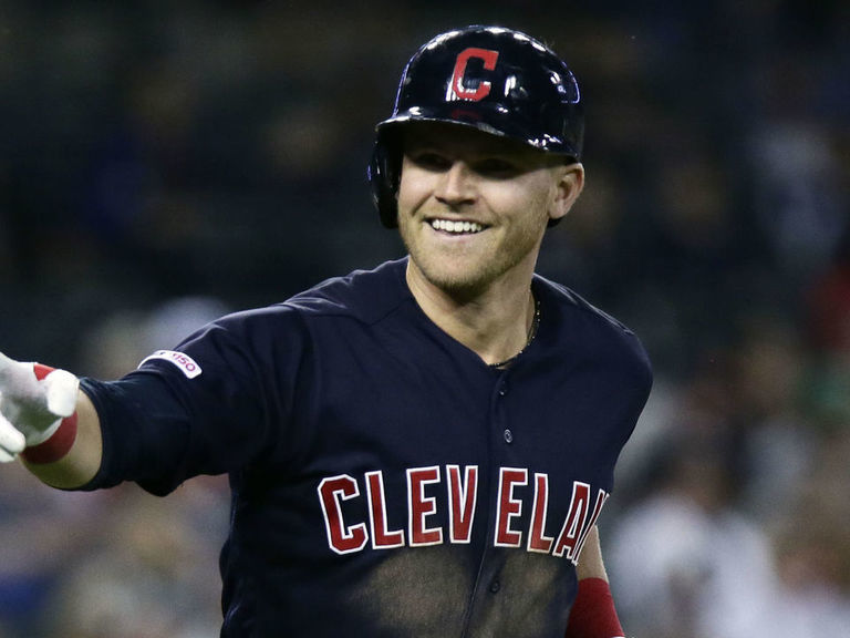 Indians' Bauers caps off MLB's 3rd cycle of season with 2-run HR