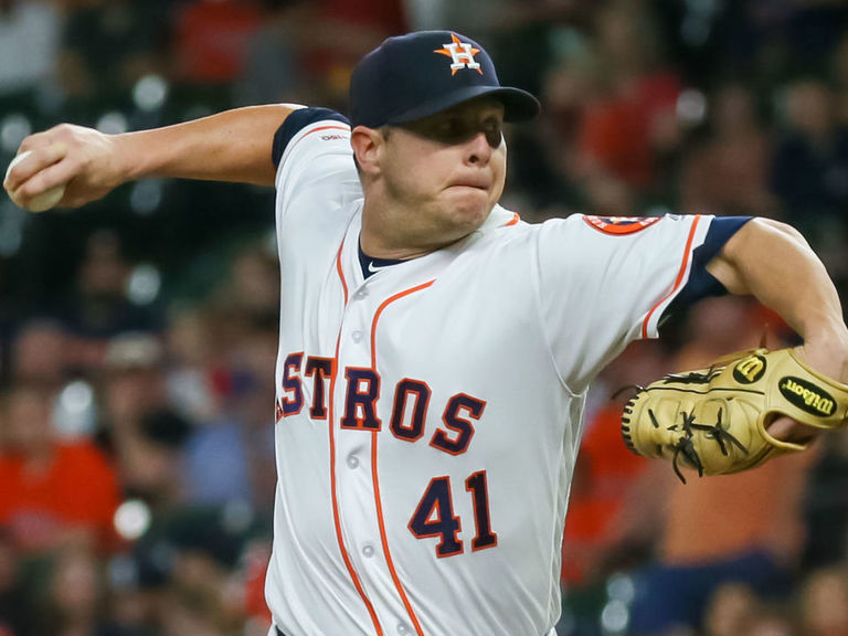 Astros' Peacock completing rare feat of starting on 0 days' rest