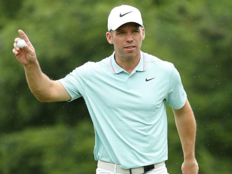 Casey trails Hughes, 5 others after Round 1 of Travelers Championship