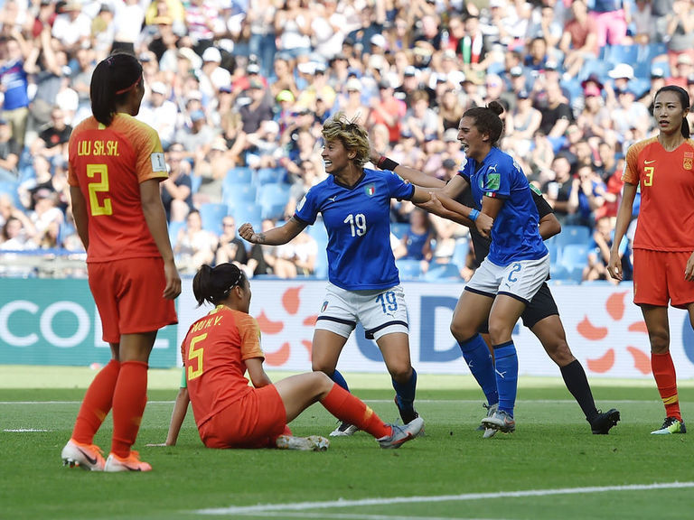 Italy books quarterfinal spot to keep impressive World Cup run alive