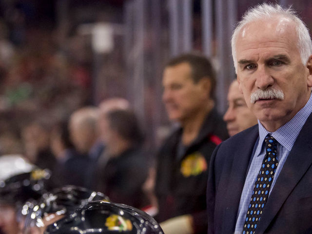 save off cfe77 1fabb Panthers' Quenneville: Returning to Chicago will be 'a ...