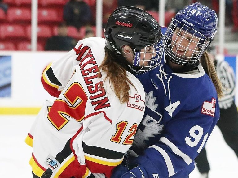 NHL, Leafs, Flames help CWHL pay player bonuses