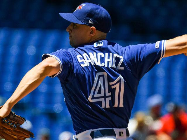newest 9e546 6e73f Blue Jays' Sanchez tries to end skid vs. Orioles   theScore.com