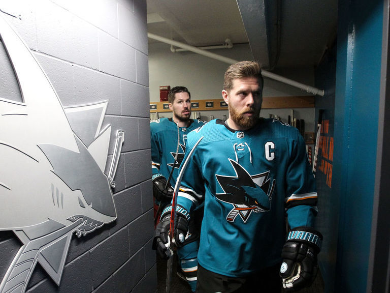Pavelski: 'It wasn't easy' leaving Sharks after 13 seasons