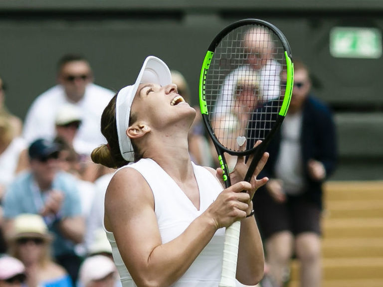 Halep routs Svitolina to reach 1st final at All England Club
