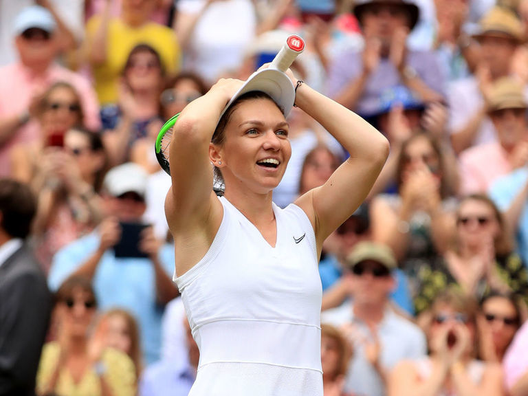 Flawless Halep dominates Serena in Wimbledon title match
