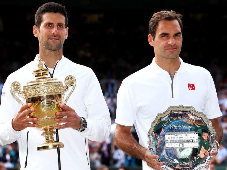 Djokovic-Federer breaks record for longest Wimbledon final