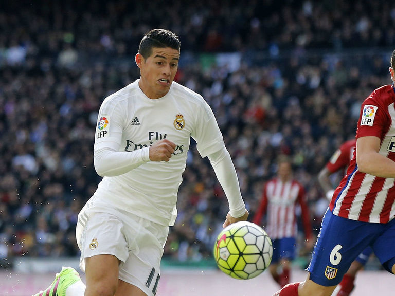 Report: James Rodriguez wants to swap Real Madrid for Atletico
