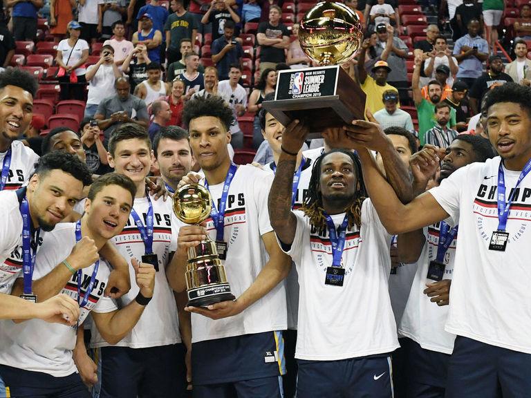Summer League MVP Clarke leads Grizzlies to Vegas title