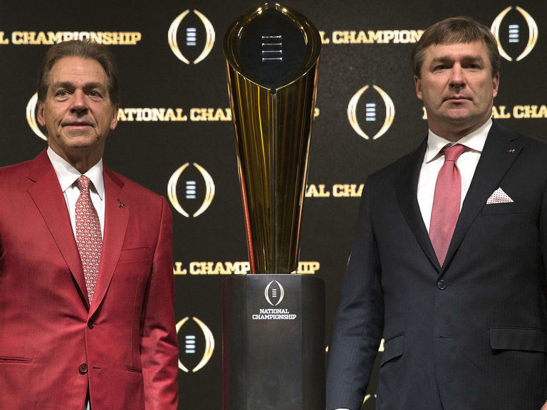 Smart 'well aware' of Saban's perfect record vs. former assistant coac