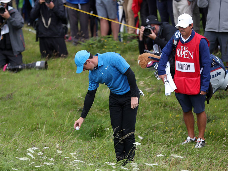 Rory posts disastrous quadruple-bogey 8 en route to first-round 79