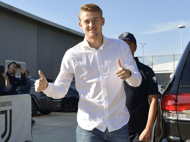 Juventus win De Ligt sweepstakes