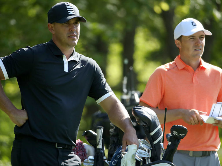 Spieth, Koepka in contention after strong play through 36 holes