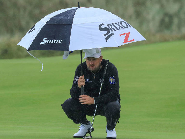 Final-round tee times at The Open moved forward due to weather