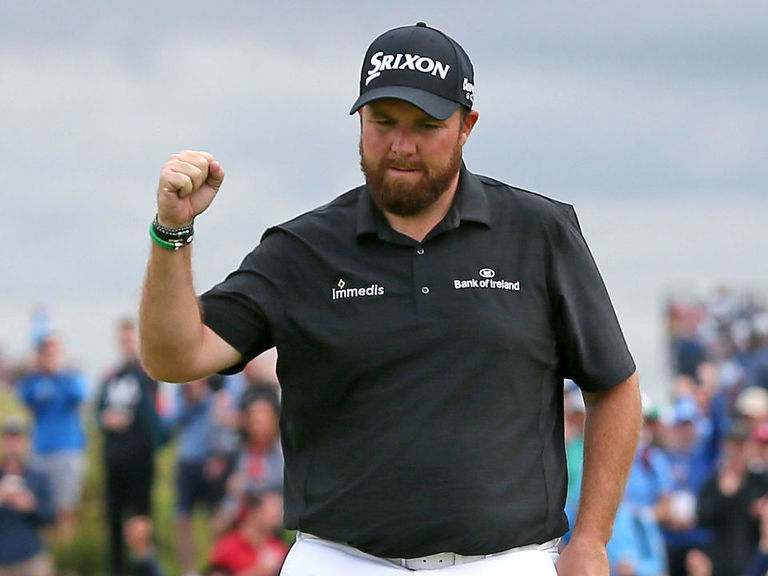 Lowry opens up 4-shot lead after dazzling 8-under 63 at The Open