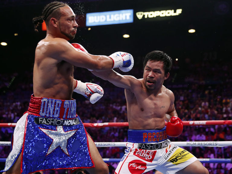 Pacquiao wins split decision over previously undefeated Thurman