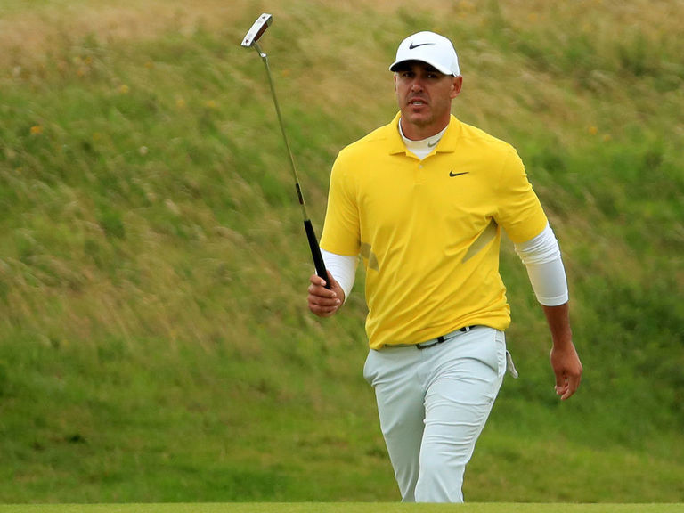 Koepka blasts Holmes' pace: 'He doesn't do anything until it's his tur
