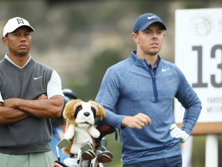Report: Woods, McIlroy playing skins event in Japan