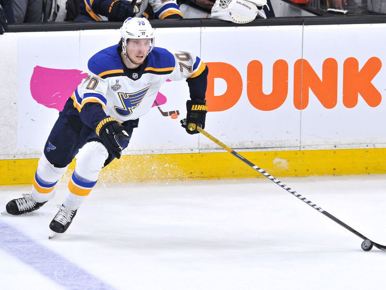 Blues, Sundqvist avoid arbitration with 4-year, $11M contract