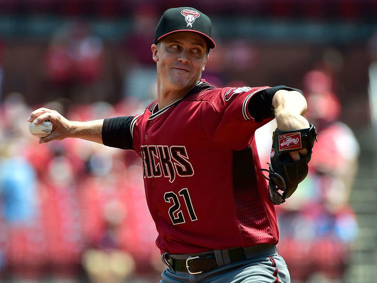 Report: Phillies scouting D-Backs' Greinke, Ray