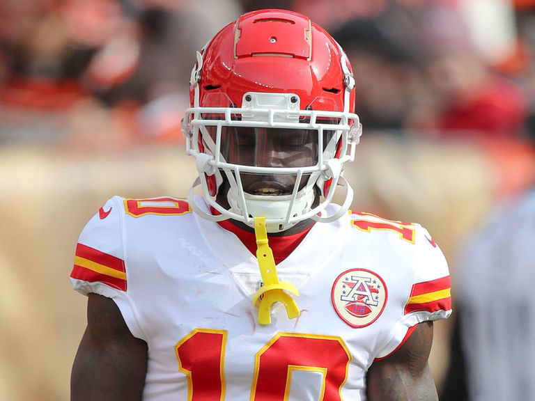 Tyreek Hill active after missing last 4 games