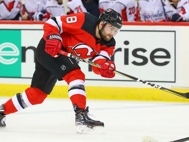 sneakers for cheap 6ec5e 78714 Devils re-sign Butcher to 3-year deal with $3.73M AAV ...