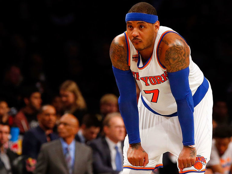 Report: Knicks planned to consider Melo return