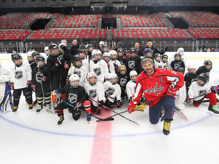 Ovechkin visits China as ambassador: 'It's a good country to raise hoc