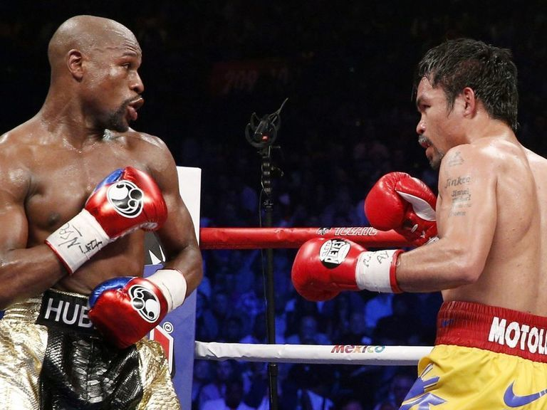 Oddsmakers still favor Mayweather in potential rematch vs. Pacquiao