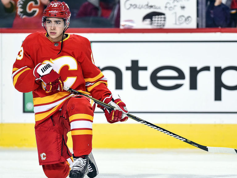 Gaudreau thinks Lucic can push Flames 'over the edge'