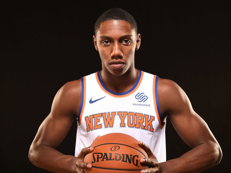Barrett names Porzingis as player he'd most like to dunk on