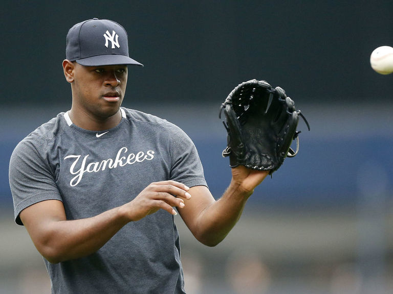 Severino expects to face hitters after next bullpen session