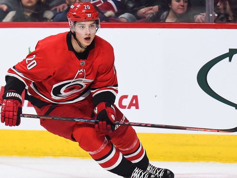 Aho: 'I'm happy with my situation' after offer sheet played out