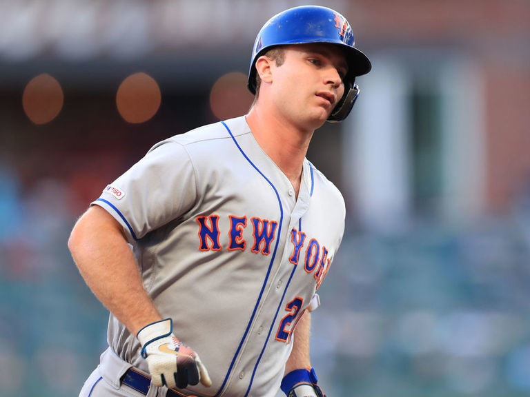 Mets' Alonso breaks Bellinger's NL rookie record with 40th HR