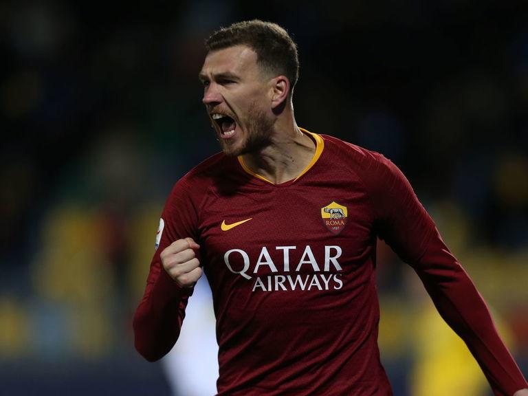 Dzeko quashes Inter rumors by signing new Roma contract