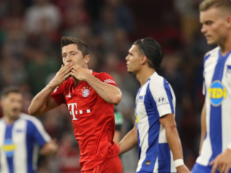 Bayern Munich come up short in season-opening draw with Hertha